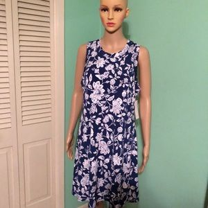 Karen Kane Sleeveless Halter Dress.